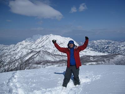 放山から権現岳