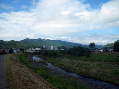 今日の桐生川