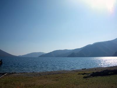 中禅寺湖千手ヶ浜