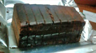 HTBのチョコレートケーキ(3)100109