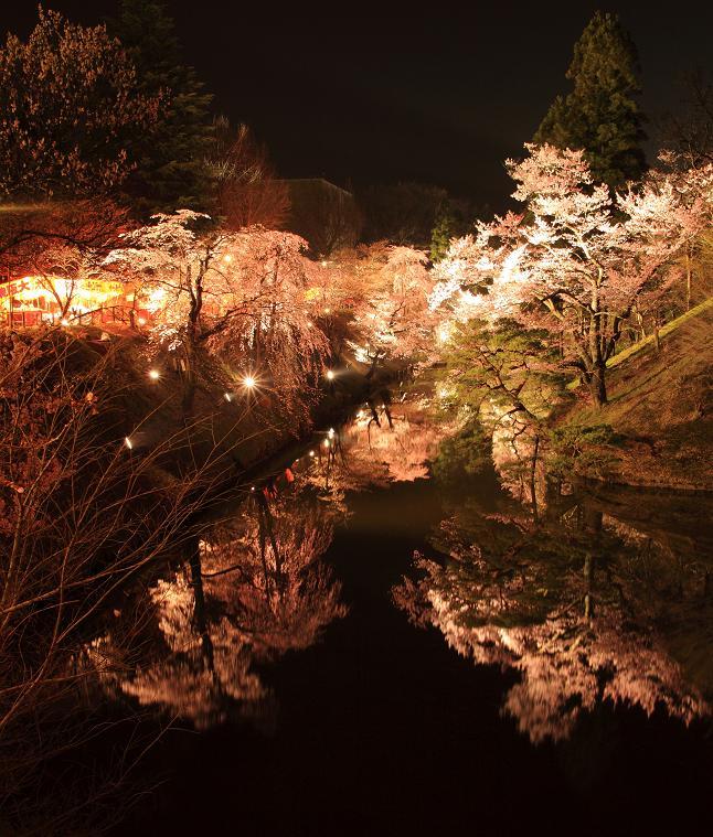 上田城跡千本桜