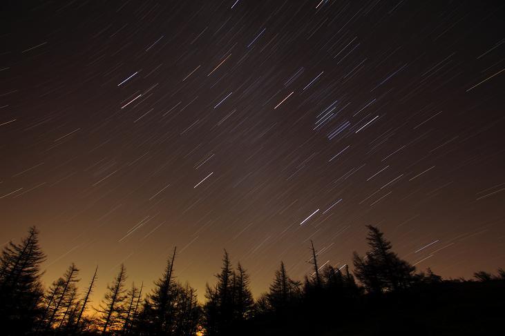 星の軌跡-1