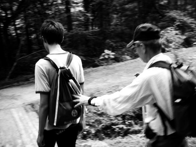 岡20130728山県立森林公園もみじ滝1