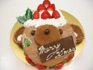 2010 12 19 くまさんケーキ