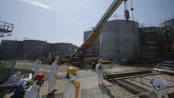 福島原発汚で染水の流出