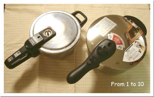 圧力鍋 買い替え