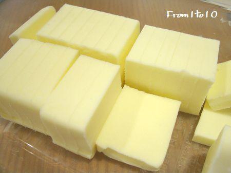 バターの切り方