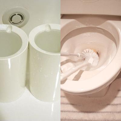 重曹でトイレ掃除