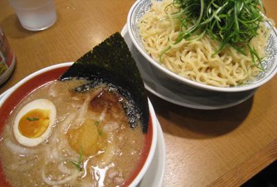 肉そばつけ麺