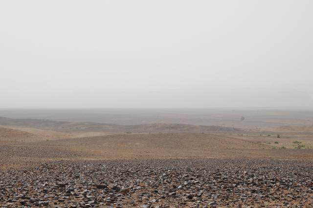土漠の地平線