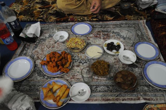 パキスタンのラマザンブレックファスト