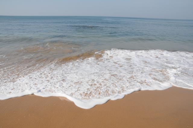 アンジュナの美しい波