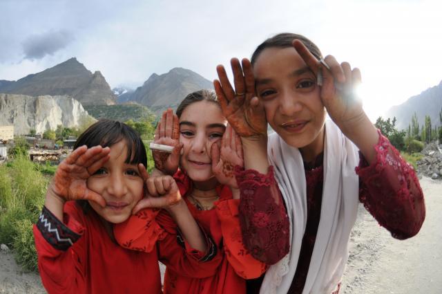 イスマイリーの女の子たち