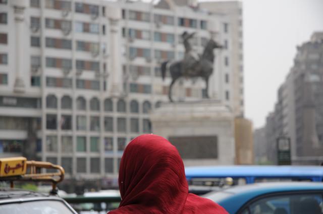 カイロの広場にて