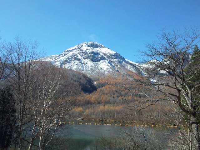 04大正池と山