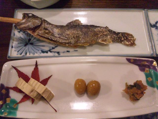49岩魚と味噌とか