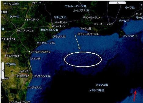 津波の逆流