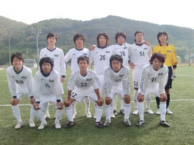 2009Iリーグ B2-IPU 11/7/土(スタメン)