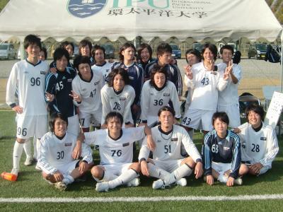 2009Iリーグ B2-IPU 11/7/土(試合直後)