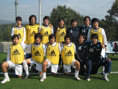 2009Iリーグ 平大/B 11/7/土(ベンチ)
