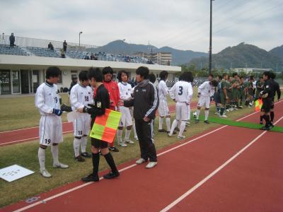 2009 県L 入れ替え戦 11/22/土(選手証チェック)