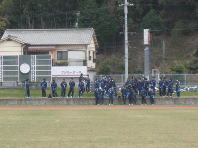 2009 県L 入れ替え戦 11/22/土(応援団)