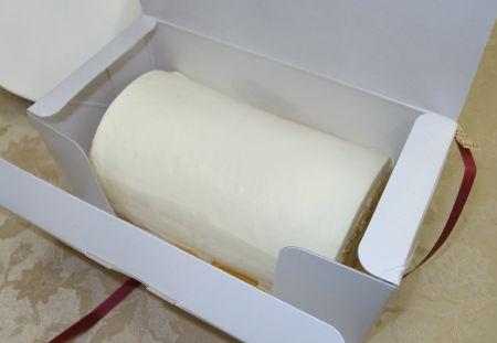 ケーキハウスノリコのロールケーキ