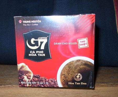 G7というインスタントコーヒー