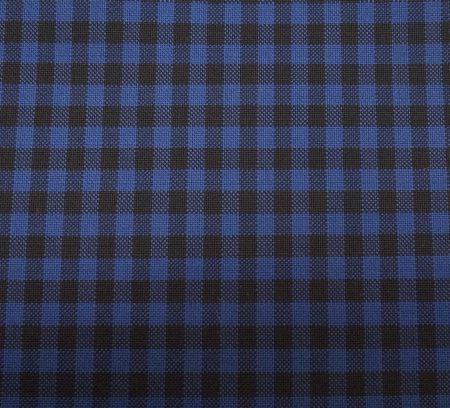 カノニコのギンガムチェックのスーツ・ジャケット生地ネイビー