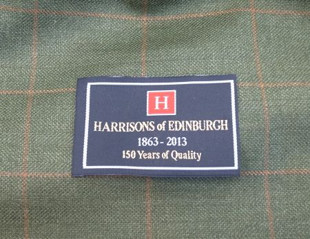 Harrisons of EDINBURGH(ハリソンズオブエジンバラ)設立150周年記念ラベル・織りネーム