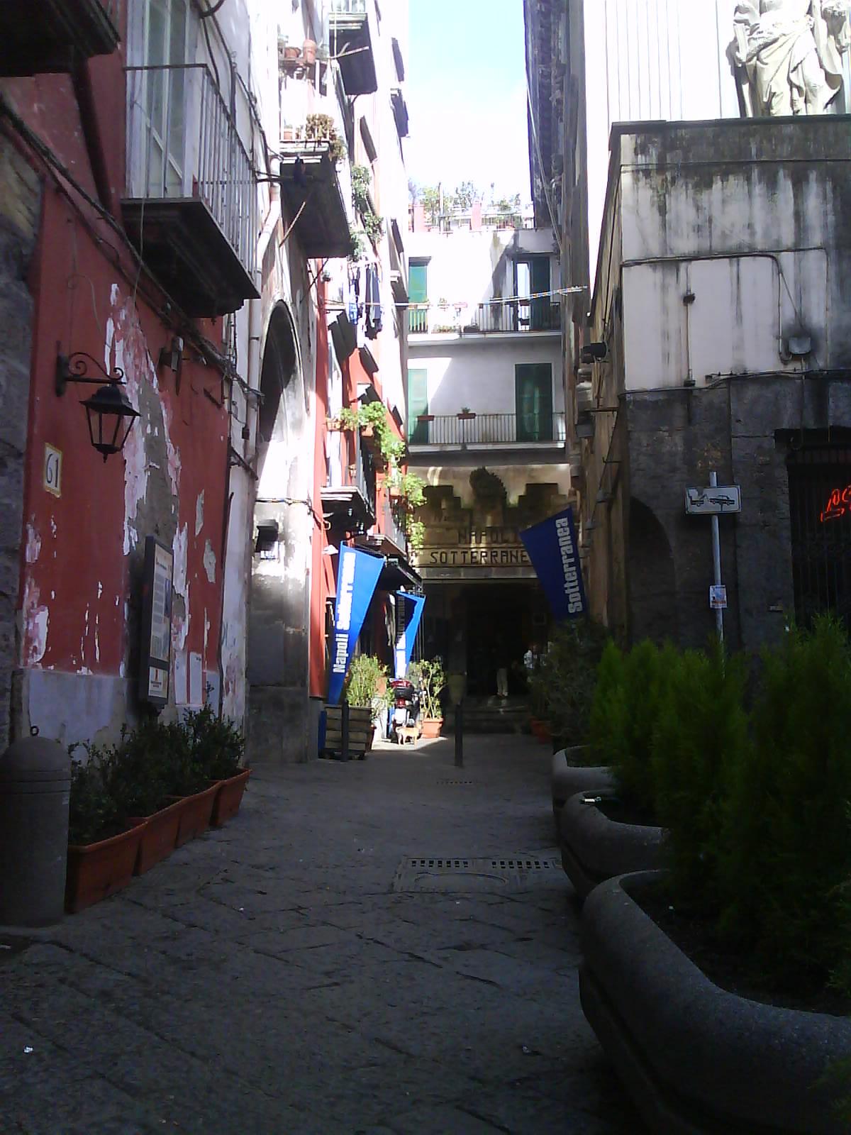 entrata sotterranea