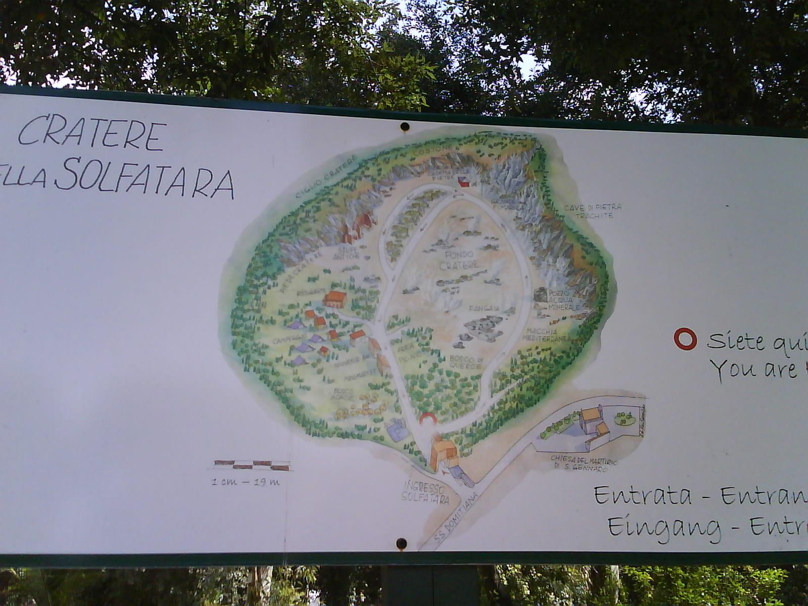 mappa solfatara