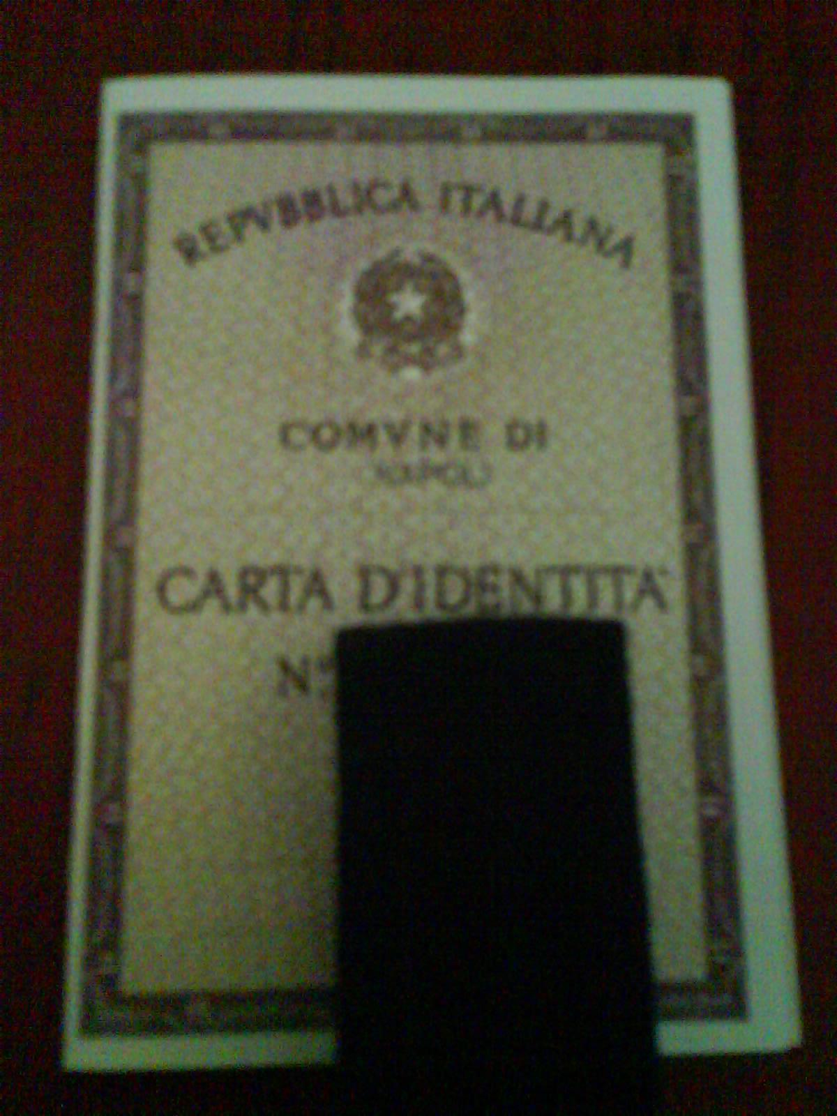 carta d'identita
