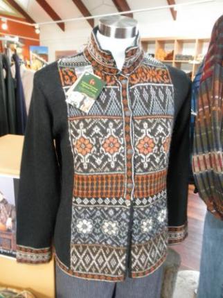 アルパカの毛で作った洋服