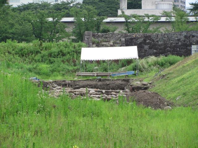 山形城発掘1