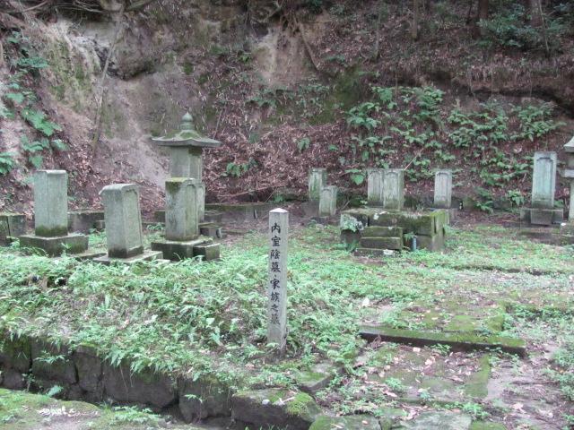 大隣寺丹羽家墓所9