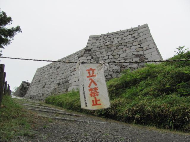 二本松城本丸石垣1