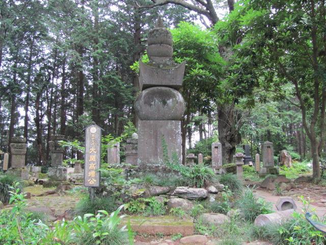 黒羽大関家墓所被害3