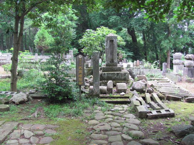 黒羽大関家墓所被害9