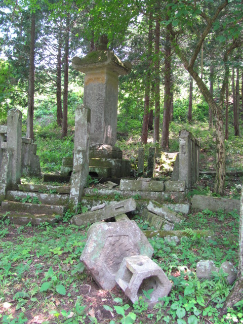 芦野氏新墳墓7