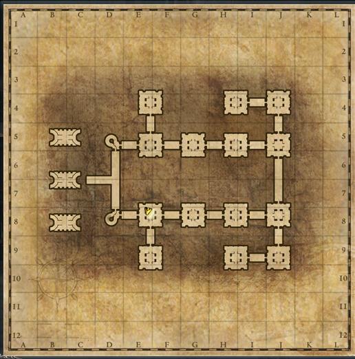 地下室マップ