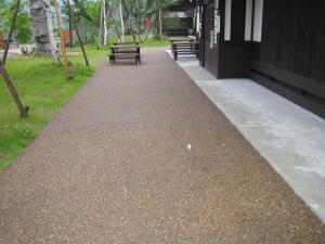 自然石舗装1