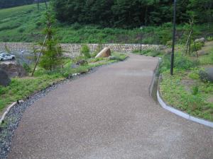 自然石舗装2