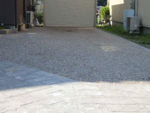自然石舗装4