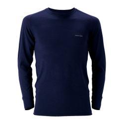 スーパーメリノウールM.W.ラウンドネックシャツ Men's