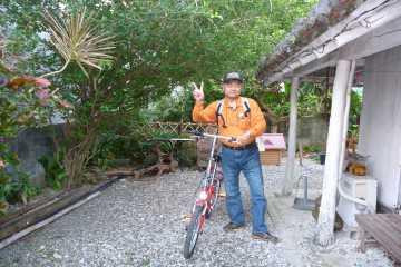 自転車で八重山の旅