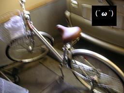 買った自転車
