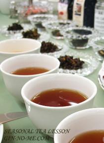ドイツ紅茶の試飲