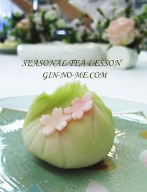 桜の上生菓子