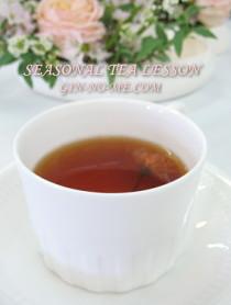 桜の紅茶(ホット)